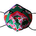 Flamingo Silk Satin Face Mask image