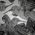 Hummingbird Scarf image