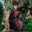 Java Hokokai Midi Wrap Skirt image