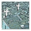 Landscape Pocket Square image