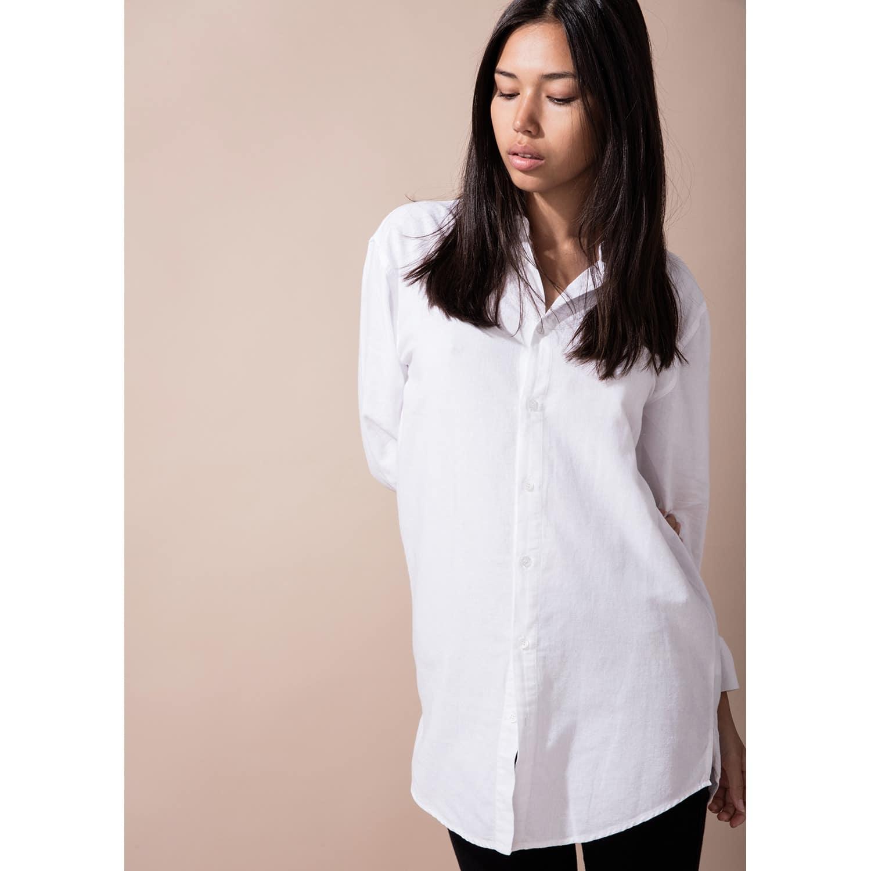 811675ba6390 Women S Tall Button Up White Shirt image