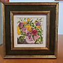Watercolor Floral Colorful Print image