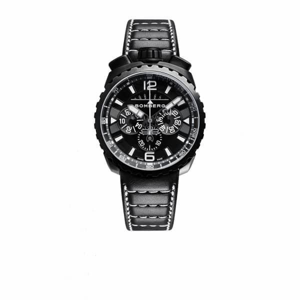 BOMBERG WATCHES Bolt Chronograph Black & White 050-6.3
