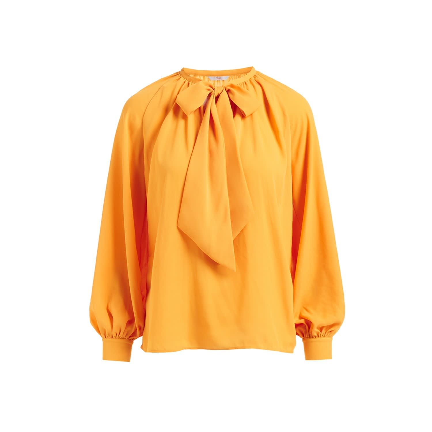 8dbca5e72baed Delysia Yellow Bow Blouse image