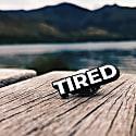 Enamel Pin Tired image