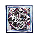 """""""Eagle Fields"""" Xl Silk Scarf image"""