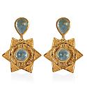 Lyra Aquamarine Earrings image