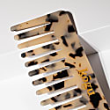 Leopard Print Wide Tooth Comb image