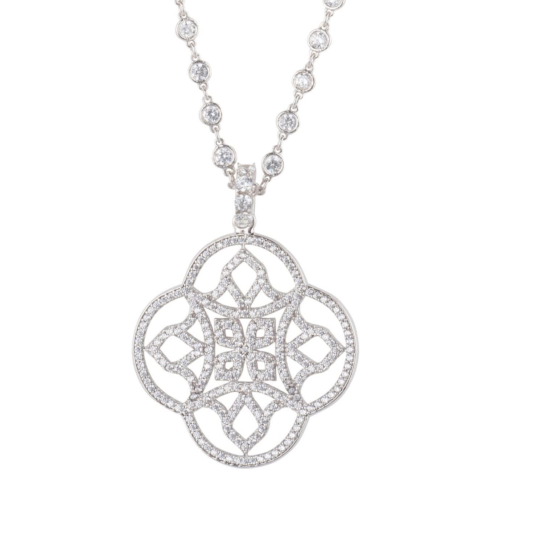 Silver Pendant,Celtic Clover,Silver Clover,Clover Pendant,Silver Necklace,Clover Lover,Celtic Lover,Designer Jewelry,Handmade Jewelry