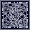 The Python Pocket Square Navy image
