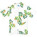 Honolulu Linen Aloha Shirt In White image