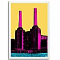 Battersea Power Station A3 Print image