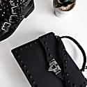 Rebel Rich Bag Studded Vegan Leather In Black image