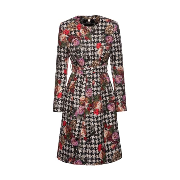 NISSA Coat With Floral Print