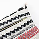 Frida Coral Stripe Cushion image