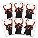 Loki Cat Cards Pack Of 6 image