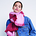Double Scarf Red & Light Pink image