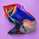 Bathe With Me Pocket Square By Claudia Chanhoi image