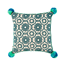 Marguerite Blue Green Cushion image