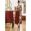 Summer Boho Wrap Dress Copper image