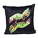 Peacock Mantis Shrimp Velvet Cushion image