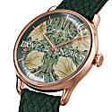 Morris & Co. Fennel Rose Gold Pimpernel - Green Perlon 30mm image