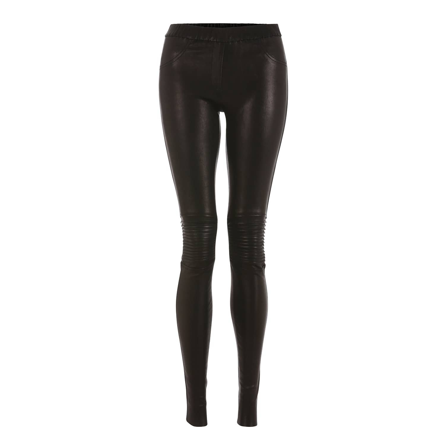 c04e9e4b26f75 Flora Leather Stretch Jeggings | ELLESD | Wolf & Badger