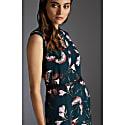 Sakura Print Midi Dress image