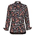 Soho Shirt- Navy Paisley image