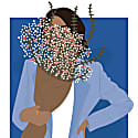 Hiding Illustration image