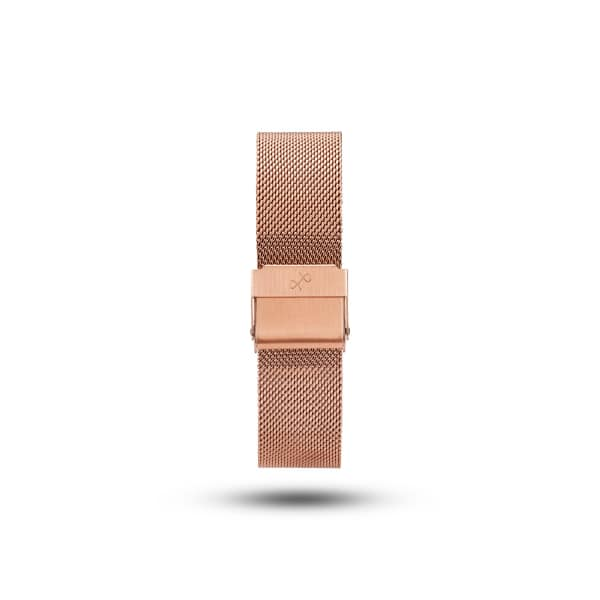 ABOUT VINTAGE Mesh Band Rose Gold