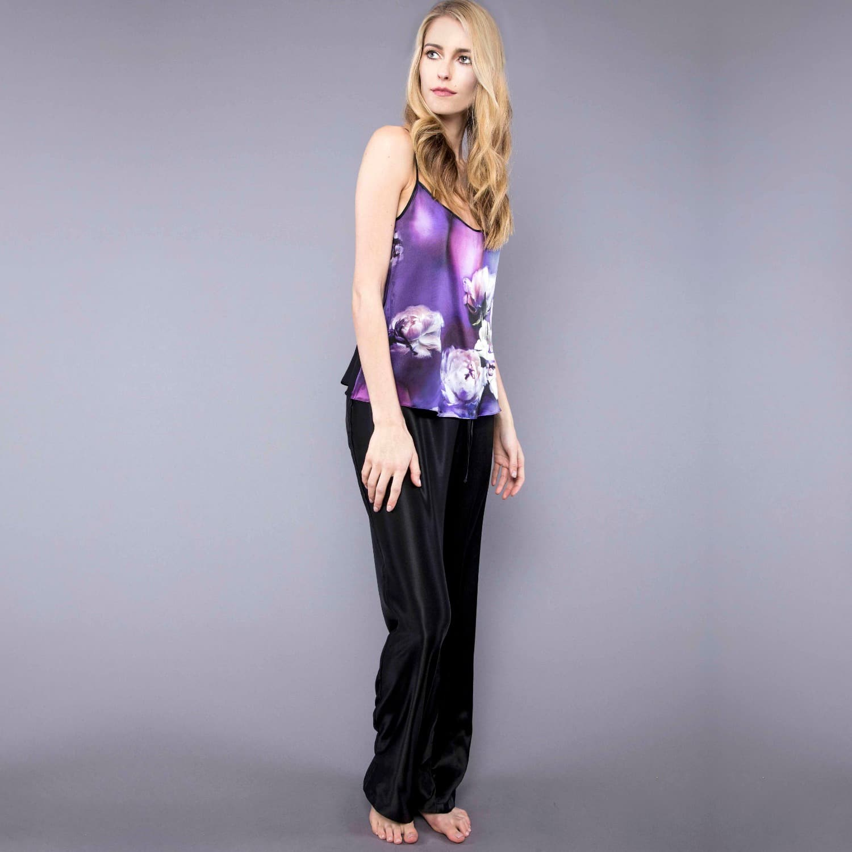 2548a1dbdd Purple Silk Pyjamas image