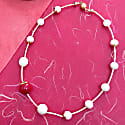 Freshwater Pearls With Natural Coral Simple Choker image