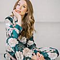 Brooklyn Floral Pyjama Set Junebug image