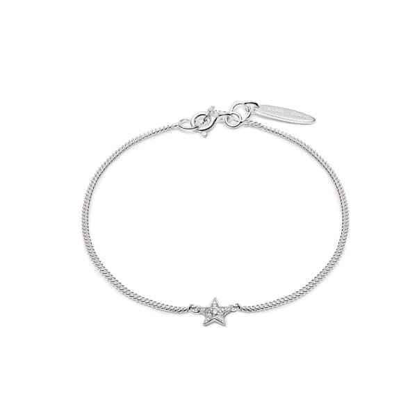 ISABEL LENNSE Mini Star White Diamond Bracelet