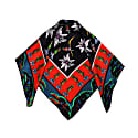 Silk Neck Tie  ''Wild Flower Valley'' image