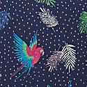 Clarissa Paradise Parrot Shirt Dress image