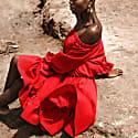 Selena Off Shoulder Dress image