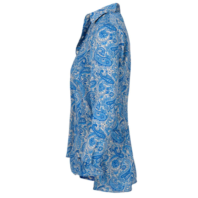 46f85be36ccb1b XS S M L XL XXL. Blue Paisley Soho Shirt
