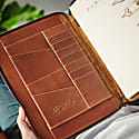 Classic Tan Leather A4 Document Holder image