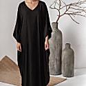 Black Long Kaftan Dress Athene image