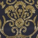 Navy & Gold Beaded Dress image