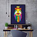 The King Print image