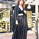 Black Sheer Kimono image