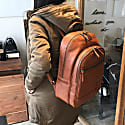Alps Backpack Tan Leather image
