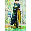 Citrine Fjord Silk Palazzo Pants image