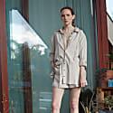 Oversized Linen Shirt (Neutrals) image