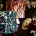 Lace Print Velvet Lampshade 25X21Cm image