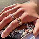 Chain Ring gold image