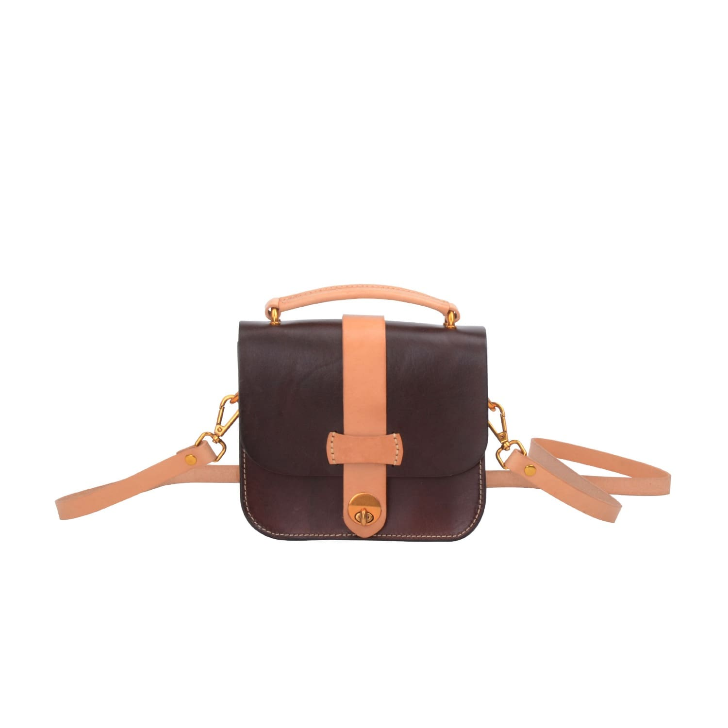 EAZO Leather Cross-Body Mini Bag In Dark Cheapest Cheap Online Professional Cheap Online Clearance Shop Offer Brand New Unisex Cheap Online Cost N3P4O3nR